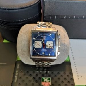 tag heuer, monaco 1, luxury watch