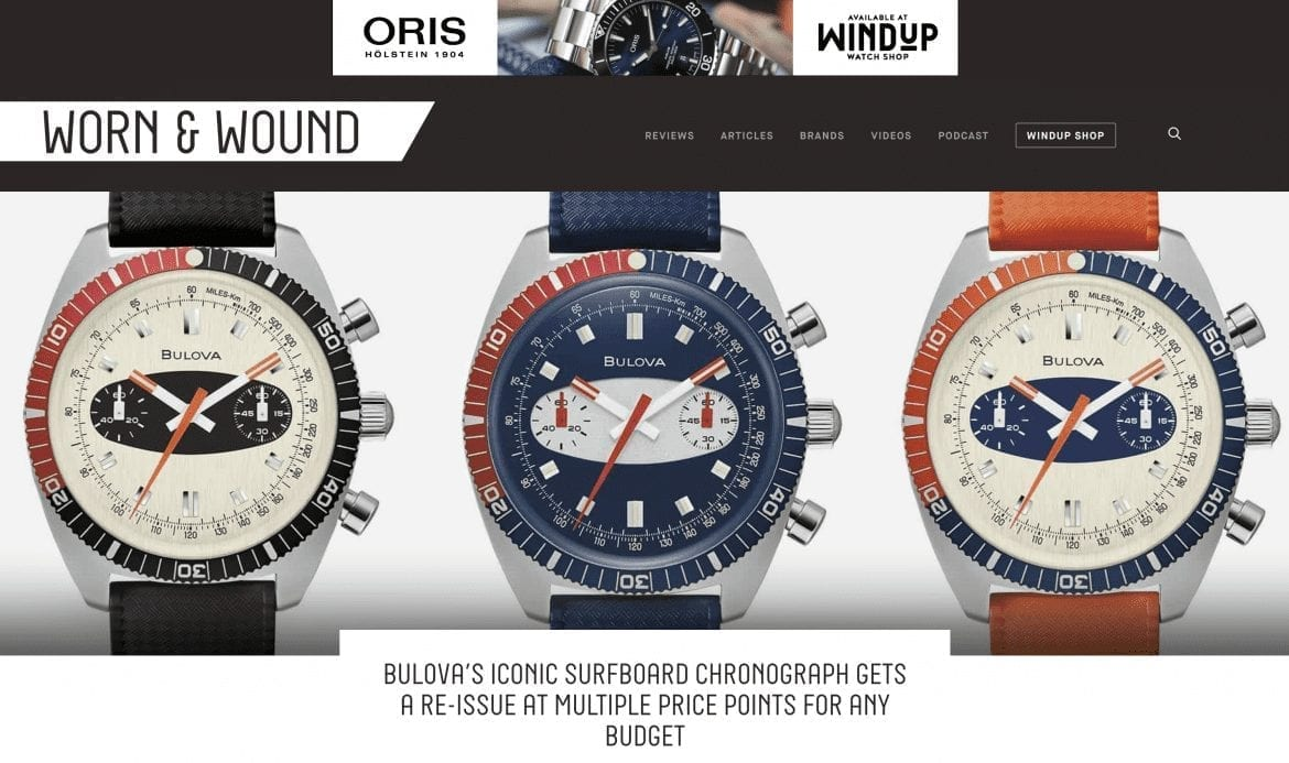 Home Page of Worn & Wound