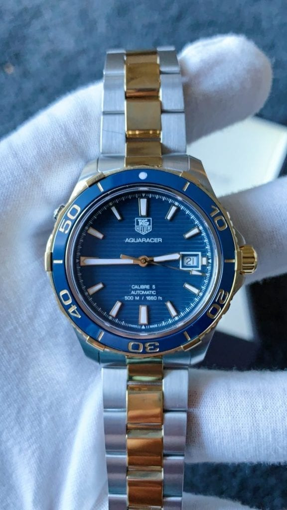 blue dial, tag, tag heuer