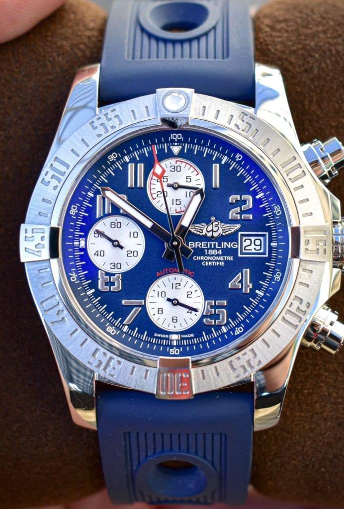 Blue Dial, Breitling