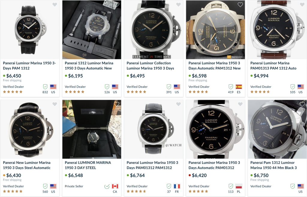 Panerai for sale