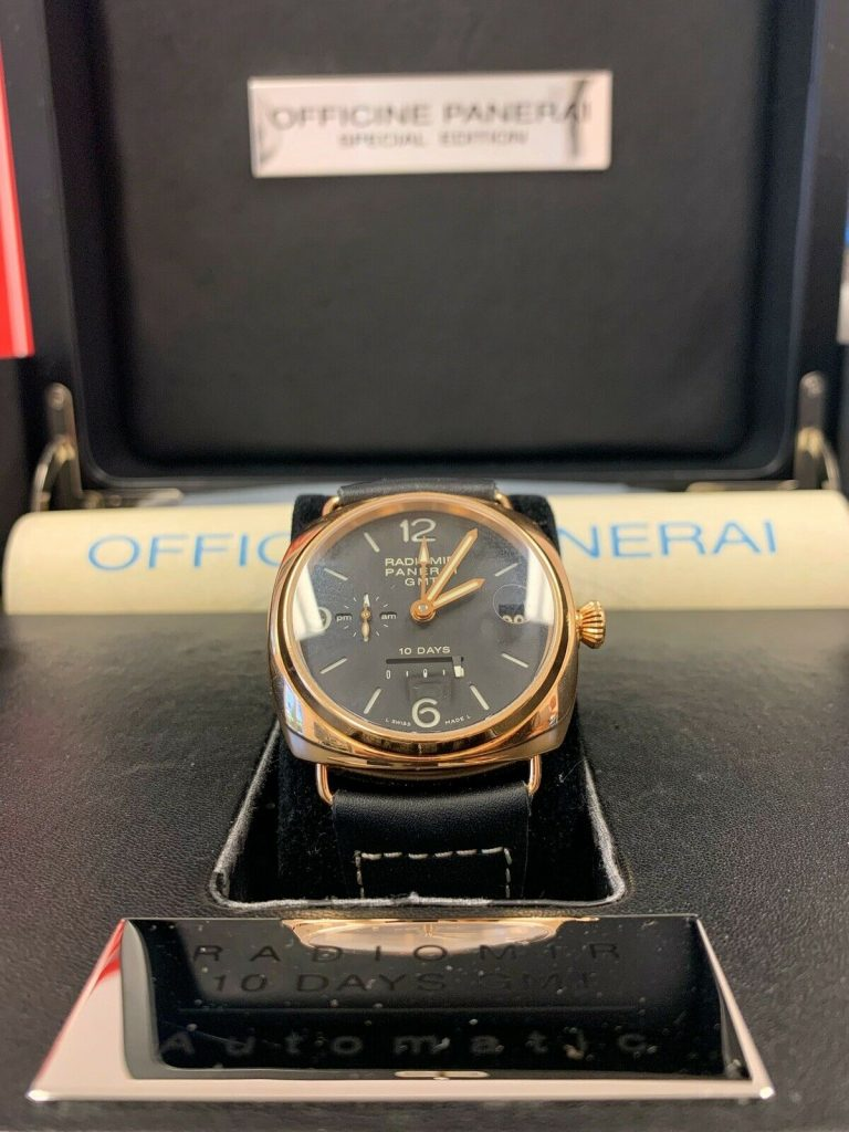 Panerai, rose gold