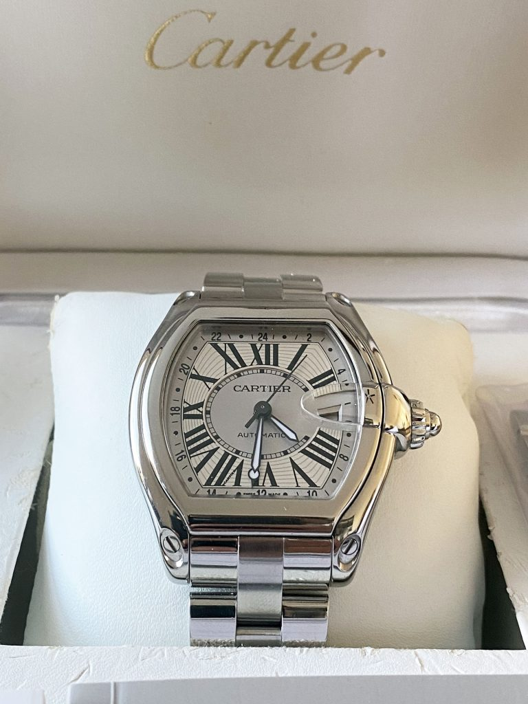 Cartier, Cartier roadster xl, gmt