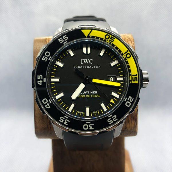 IWC Aquatimer 2000 Dial Close-up