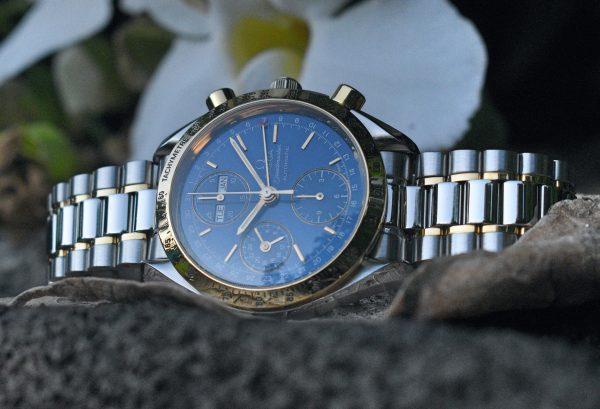 Omega Speedmaster 3321.80, Gold, blue
