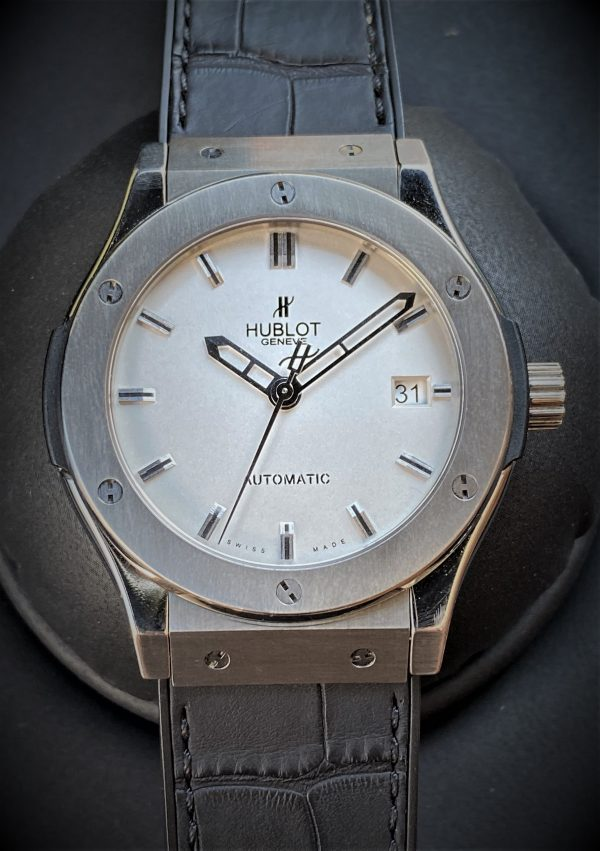 Hublot Classic Fusion 45mm Zirconium Boxes/Papers