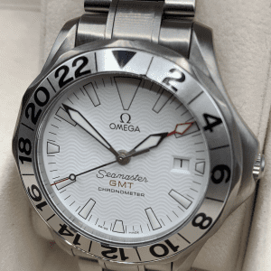 Omega Seamaster great white