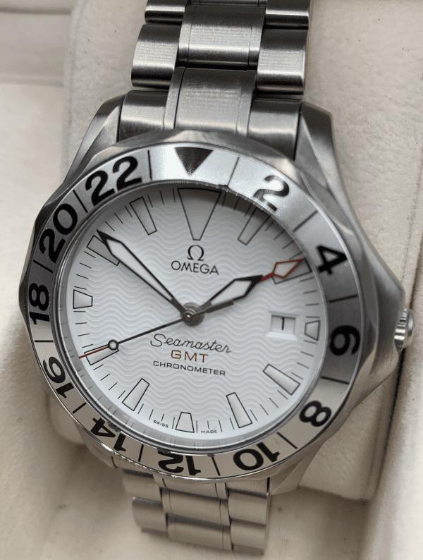 Omega Seamaster great white