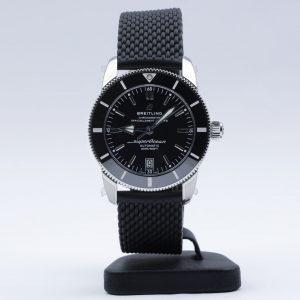Breitling Superocean Héritage II 42 Black Dial Rubber BNIB 2020 AB2010121B1S1