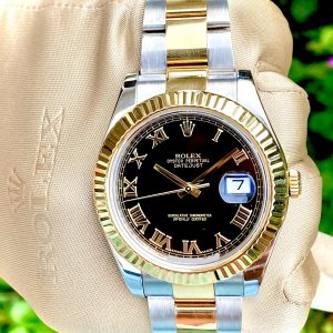 Rolex Datejust II 116333 41mm 18k Yellow Gold & Stainless