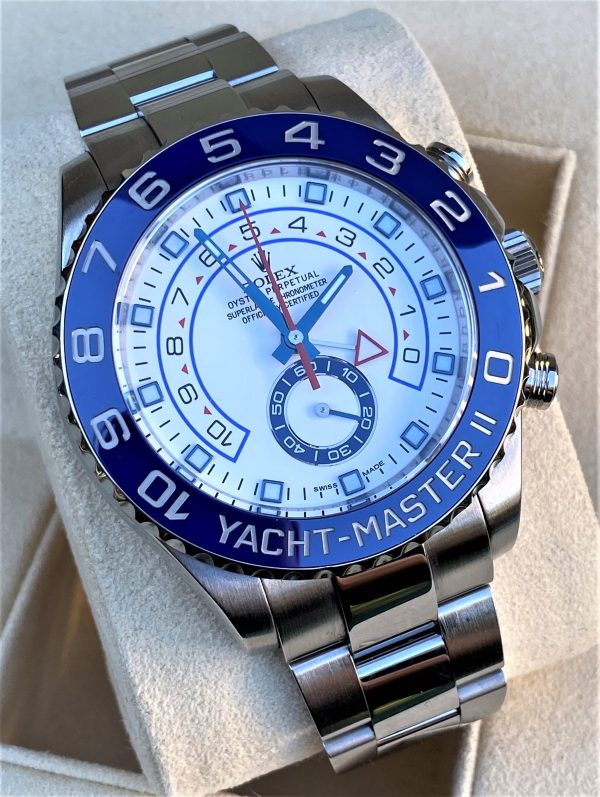 Rolex Yacht-Master II 44mm Stainless