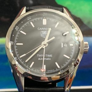 Tag Heuer Carrera Automatic Twin Time GMT