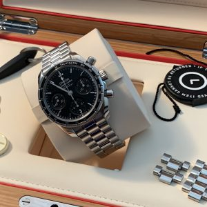 Omega Speedmaster Co-Axial Chronograph 38mm Stainless Steel - 324.30.38.50.01.001