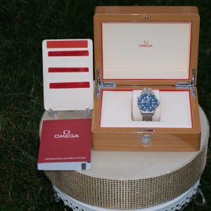 Omega Seamaster Diver 300m Co-Axial Master Chronometer 42mm Blue Dial Men's Watch 210.30.42.20.03.001