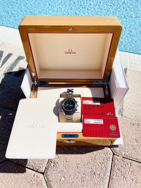 Omega Speedmaster Date Chronograh 3210.50 Box and Papers
