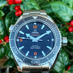 Omega Seamaster Planet Ocean 8500 Movement Excellent Condition