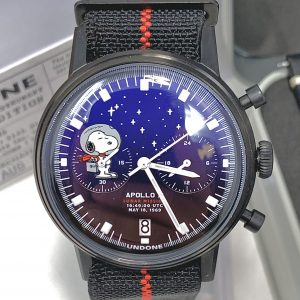 "Undone ""limited edition"" Snoopy Starlight NASA Apollo X Mission Chronograph"