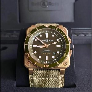 Bell & ross Green Dial Diver BR03-92