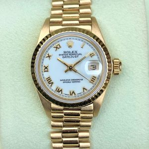 Rolex Datejust President 18k Yellow Gold 26mm 6917