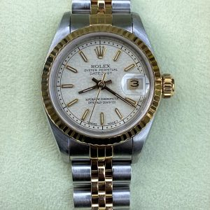 Rolex Datejust Two Tone 18k Yellow Gold & Stainless 26mm 69173