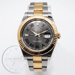 Rolex Oyster Perpetual DateJust II Fluted Bezel