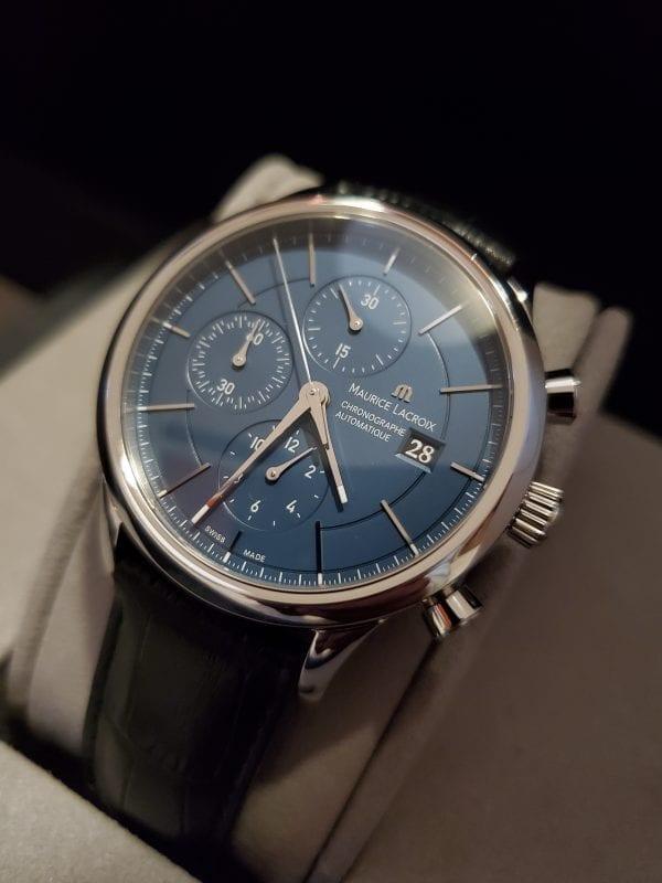 Maurice Lacroix LES CLASSIQUES CHRONOGRAPHE BLUE LC6058