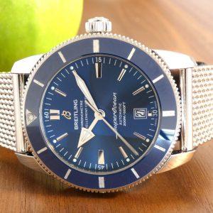 Breitling Superocean Heritage II Full Set Blue 46 AB2020161C1.A1 2019
