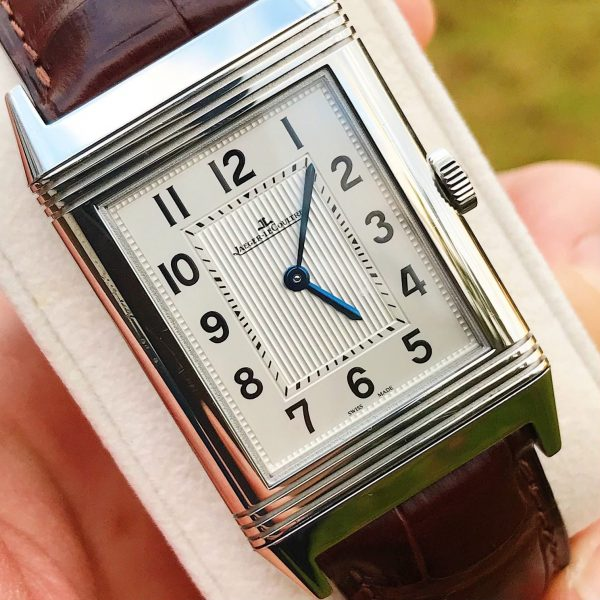 Jaeger Lecoultre JLC Reverso Grande Ultra Thin steel Manual 277.8.62 Boxes, Paper and Extra Strap