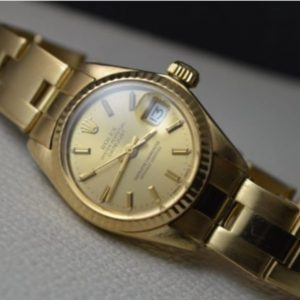 Rolex Datejust 26mm solid gold watch