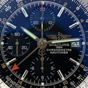 Breitling Navitimer World GMT Leather Chronometre Black Dial - 46mm - A24322