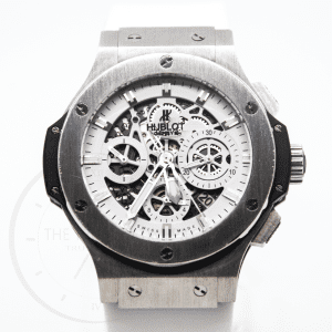Hublot Big Bang White Limited Edition Aero Skeleton 44mm