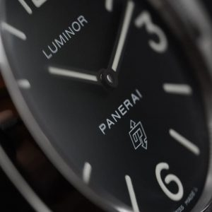 PAM 000 Base Watch Close Up