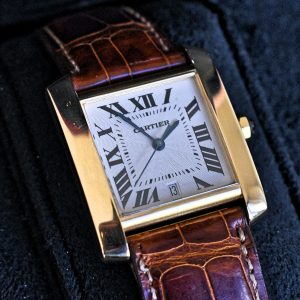 cartier Panthere 18k gold watch