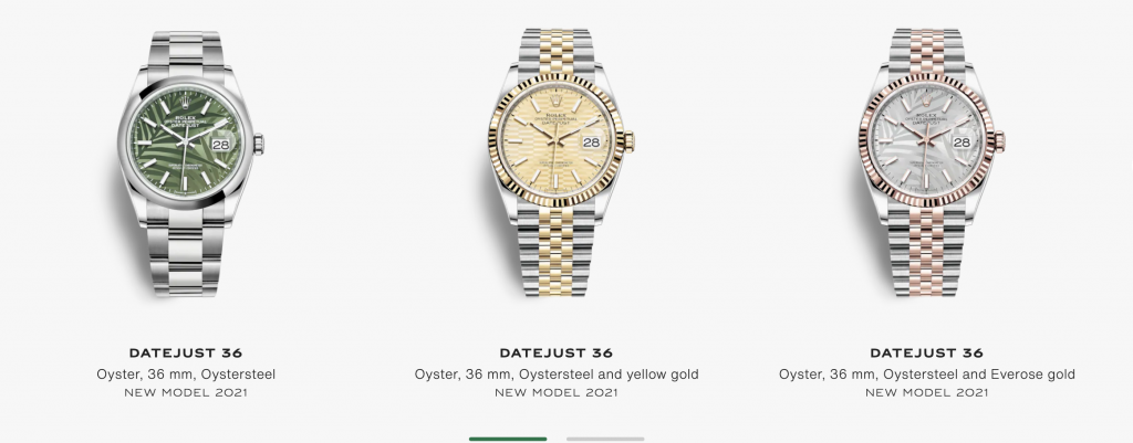 Rolex New releases 2021