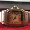 Cartier Santos Galbee, Ref W20056D6 (1565), Ladies, Stainless Steel, 24mm, Quartz,
