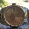 Rolex Datejust Jubilee Steel 18K Diamond Dial 36mm Watch (16233)
